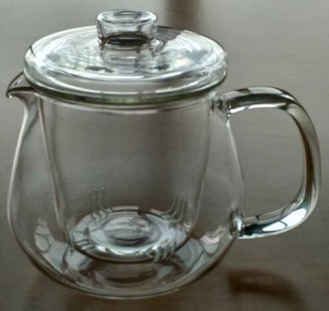 Suji  Daobei Teapot with Glass Infuser 1