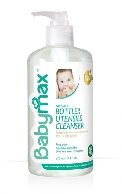 Fajar Inti Wisesa Babymax Baby-Safe Bottle and Utensils Cleanser 1