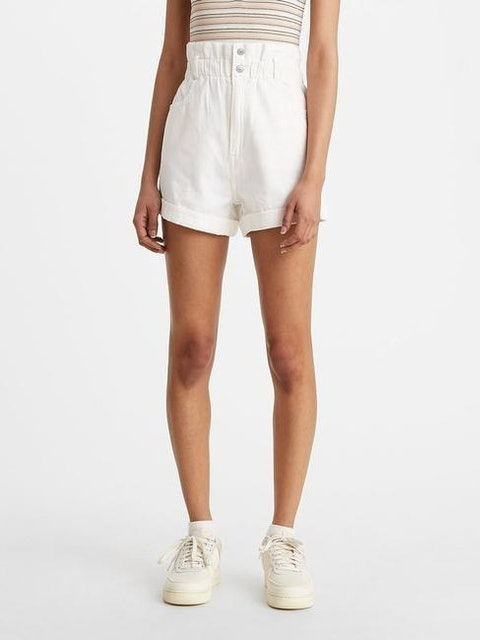 Levi's High-Waisted Paperbag Shorts 1