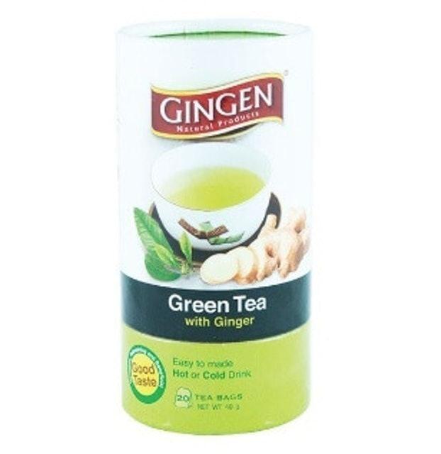 Kaizee Gingen Green Tea with Ginger (Tea Bag) 1