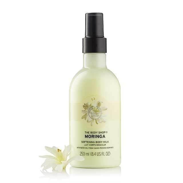 The Body Shop Moringa Softening Body Milk Moisturizer 1