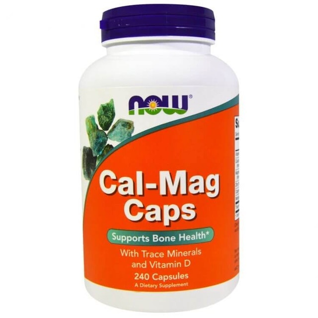 Now Foods Cal-Mag Caps 1