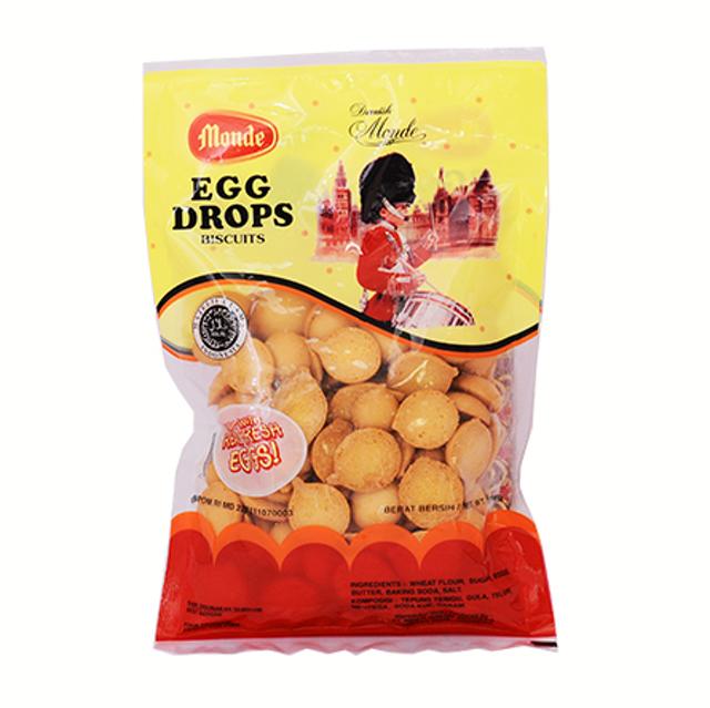 Nissin Biscuit Indonesia  Monde Egg Drops 1