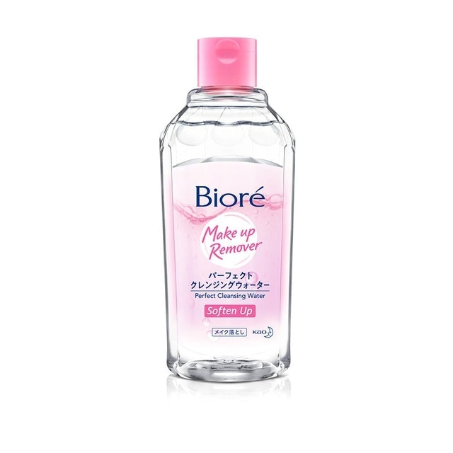 Kao Biore Makeup Remover Perfect Cleansing Water Soften Up 1