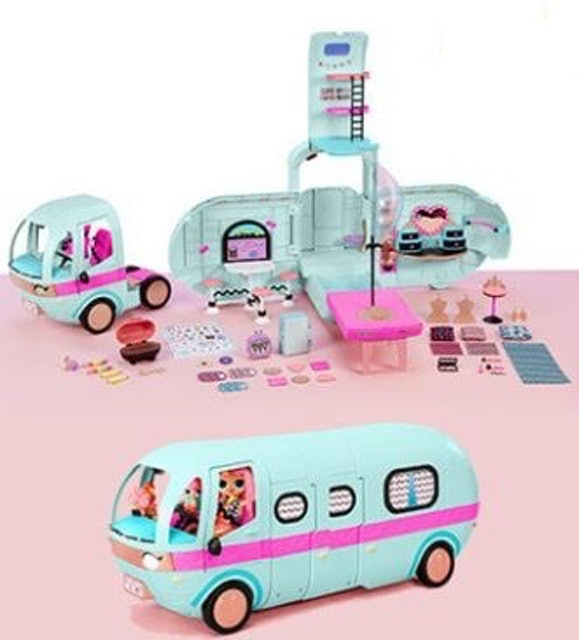 MGA Entertainment L.O.L. Surprise 2-in-1 Glamper with 55+ Surprises 1