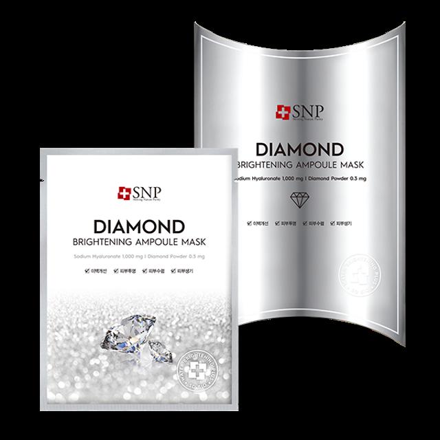 SNP Diamond Brightening Ampoule Mask 1
