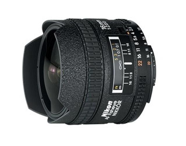 Nikon AF Fisheye-Nikkor 16mm f/2.8D 1