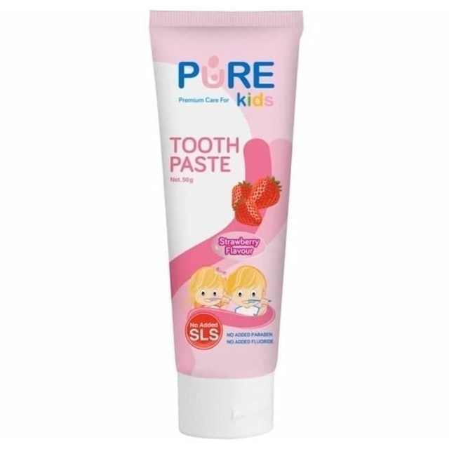 Pure Kids Toothpaste Strawberry 1
