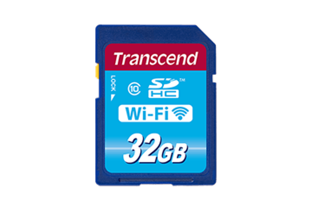 Transcend SDHC Wi-Fi 1