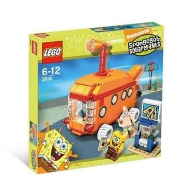 LEGO SpongeBob SquarePants The Bikini Bottom Express 1