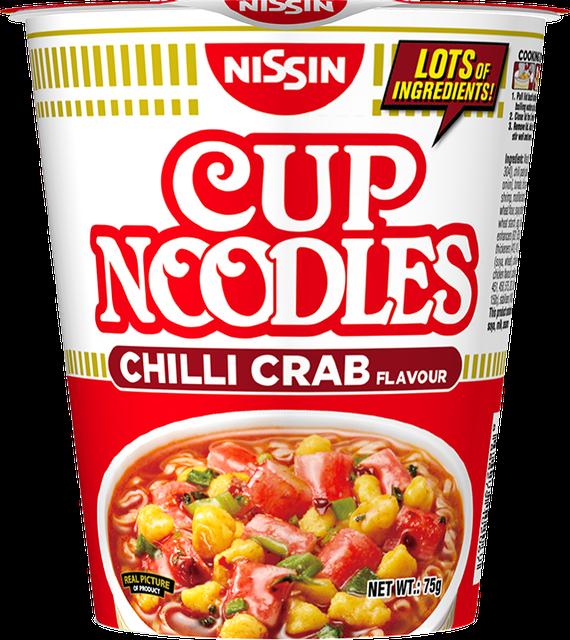 Nissin Nissin Cup Noodles Chilli Crab 1