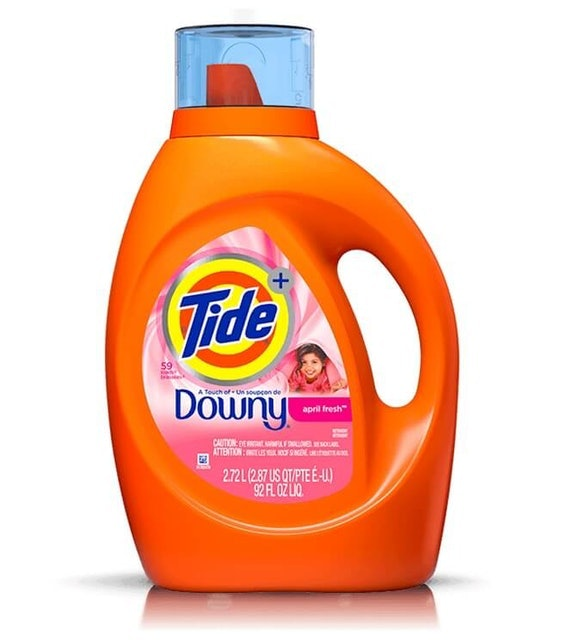 P&G  Tide Plus A Touch of Downy Liquid Laundry Detergent 1