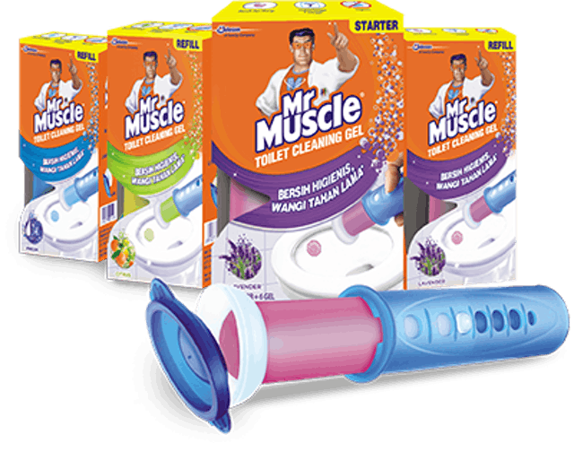 SC Johnson And Son Mr. Muscle Toilet Cleaning Gel 1