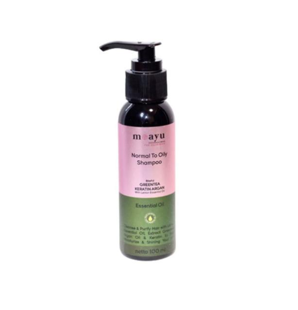 Moayu Blissful Green Tea Keratin Argan Shampoo 1