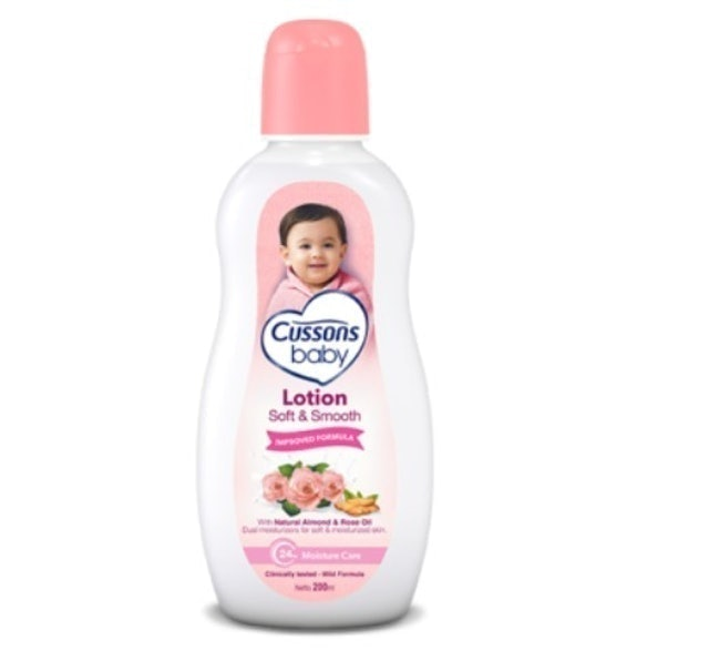 PZ Cussons Cussons Baby Soft & Smooth Lotion 1