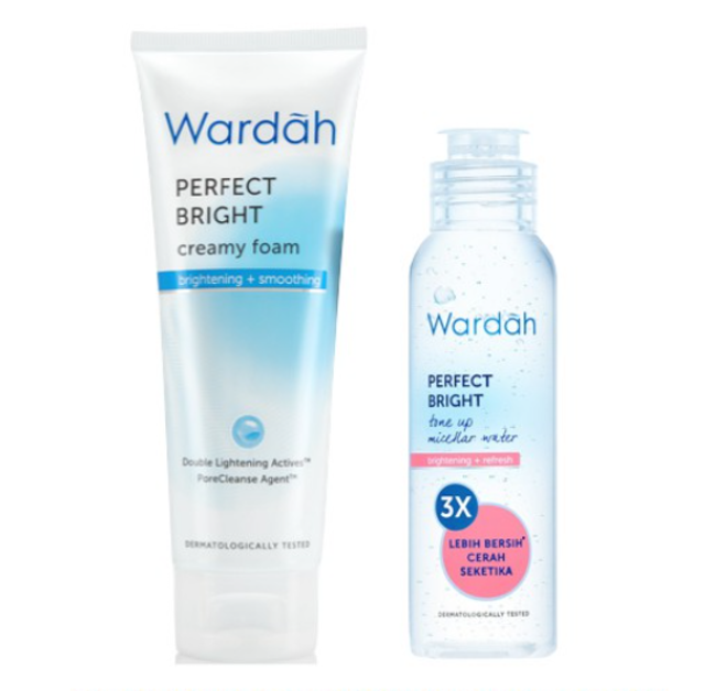 Wardah Perfect Bright Double Cleansing Normal - Dry Skin 1