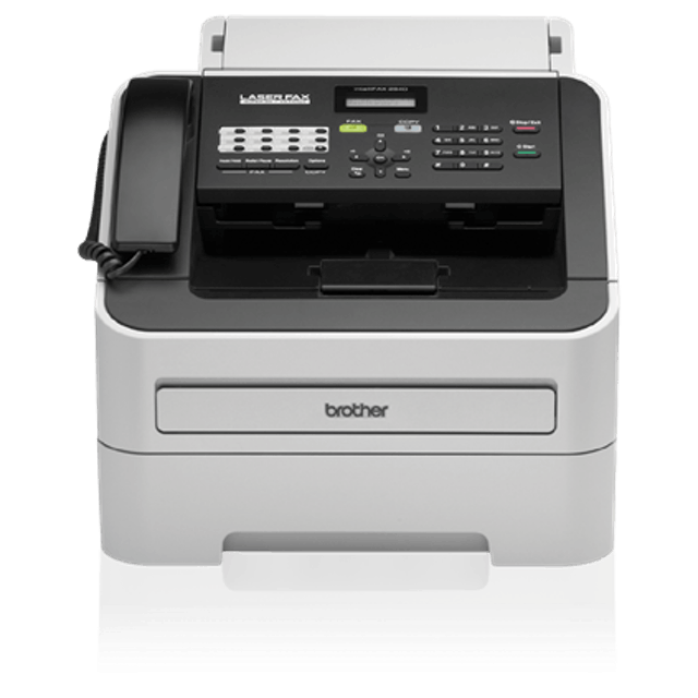 Brother FAX2840 High-Speed Laser Fax 1