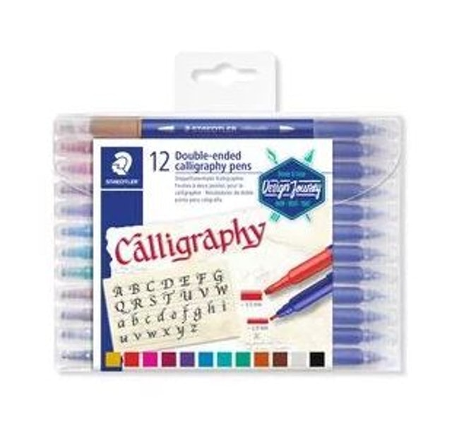 STAEDTLER Double-ended Calligraphy Pen 1