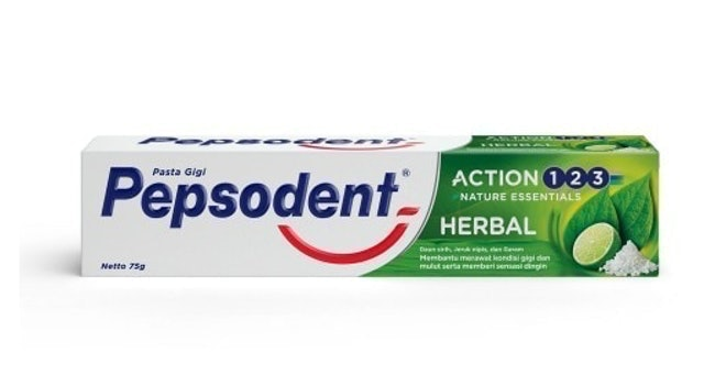 Pepsodent Action Herbal 1