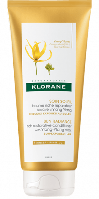Klorane Sun Radiance Conditioner with Ylang-Ylang Wax 1