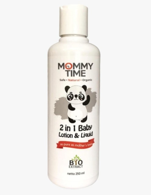Mommy Time  2 in 1 Baby Lotion & Liquid Talc 1