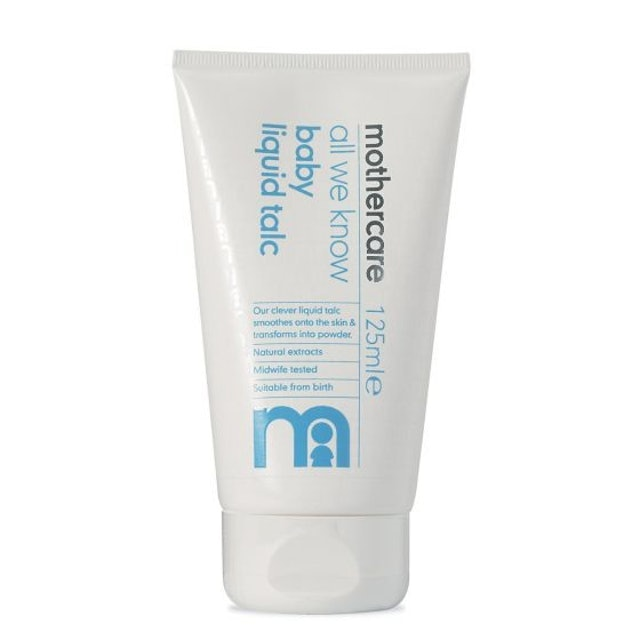 Mothercare All We Know Baby Liquid Talc 1