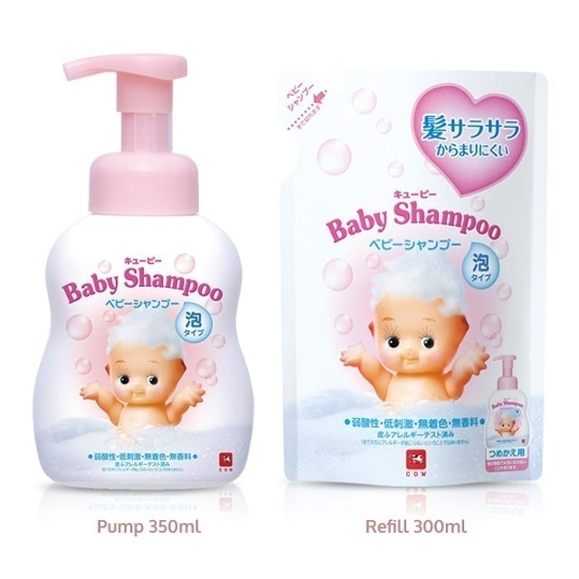 Cow Style QP Baby Foaming Shampoo 1