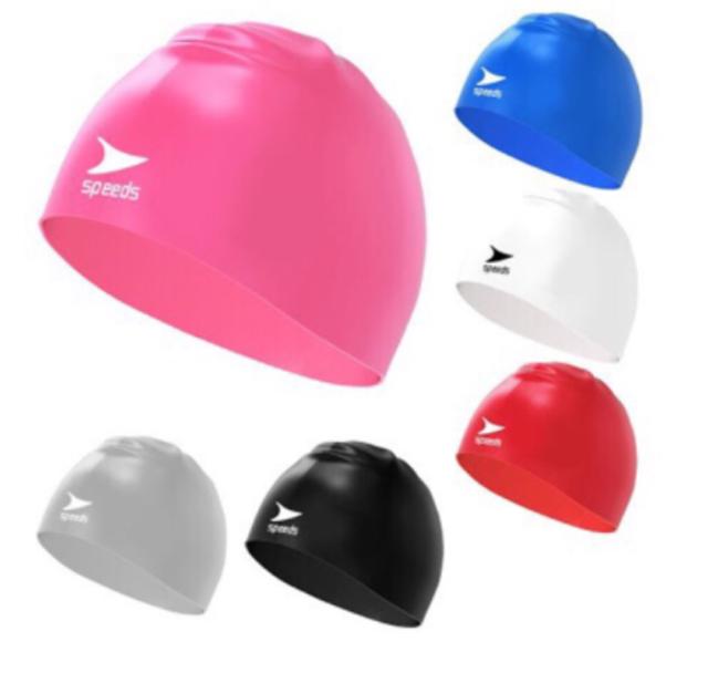 SPEEDS Silicone Swim Cap 1