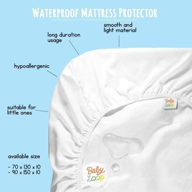 Baby Loop  Mattress Protector 1