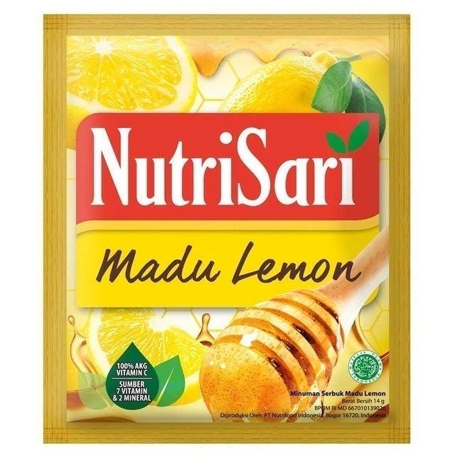 Nutrifood Indonesia NutriSari Madu Lemon 1