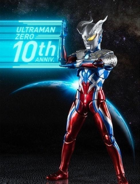 Bandai S.H.Figuarts Ultraman Zero 10th Anniversary Special Color Ver. 1