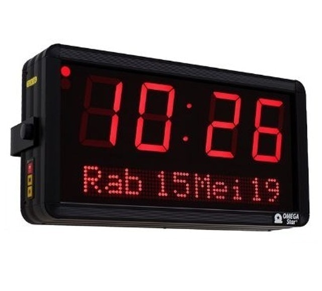 OMEGA Star Digital Clock with Date Type 1