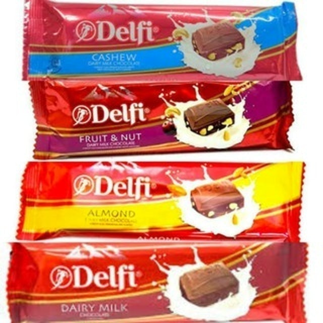 Delfi Dairy Milk Chocolate Bar 1
