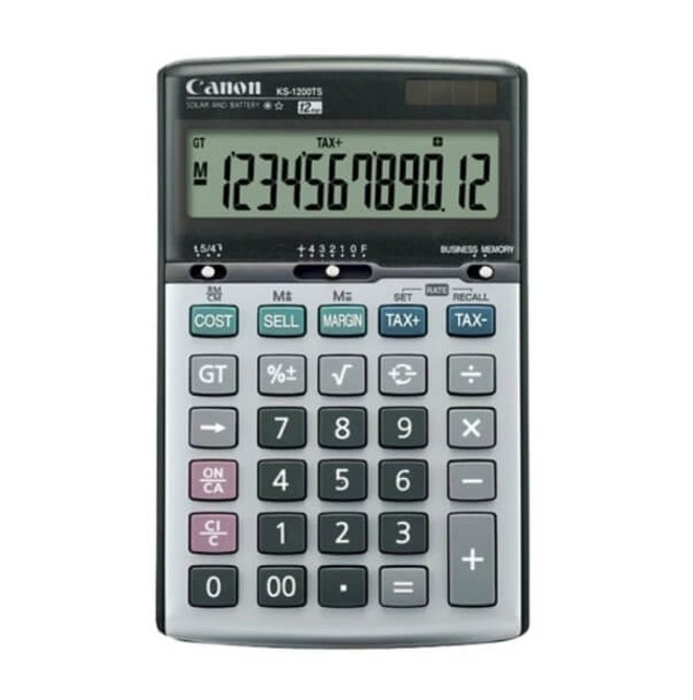 Canon Basic Calculators 1
