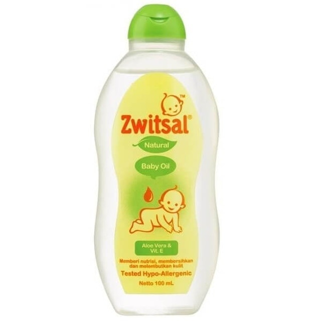 Zwitsal Natural Baby Oil with Aloe Vera and Vit E 1