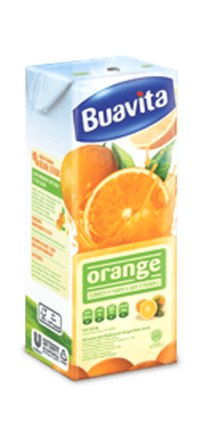 Unilever  Buavita Orange 250 ml  1