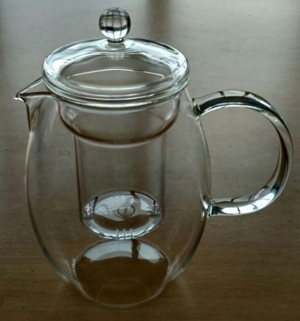 Suji  Blossom Teapot with Glass Infuser 1