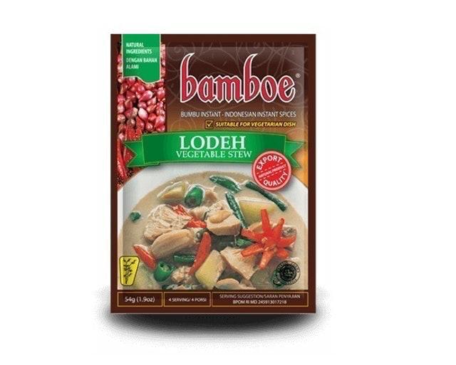 Bamboe Lodeh 1