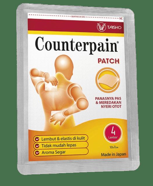 Taisho Pharmaceutical  Counterpain Patch  1