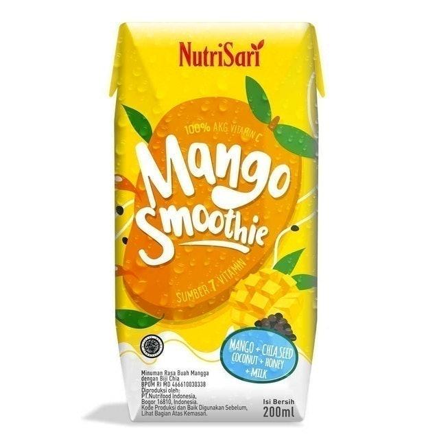 Nutrifood Indonesia NutriSari Mango Smoothie 1