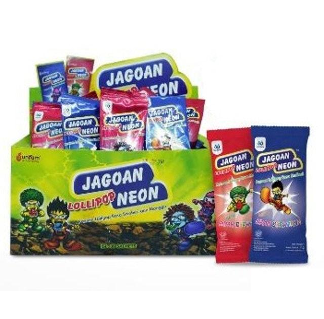Unifam Jagoan Neon Lollipop Assorted Box 1