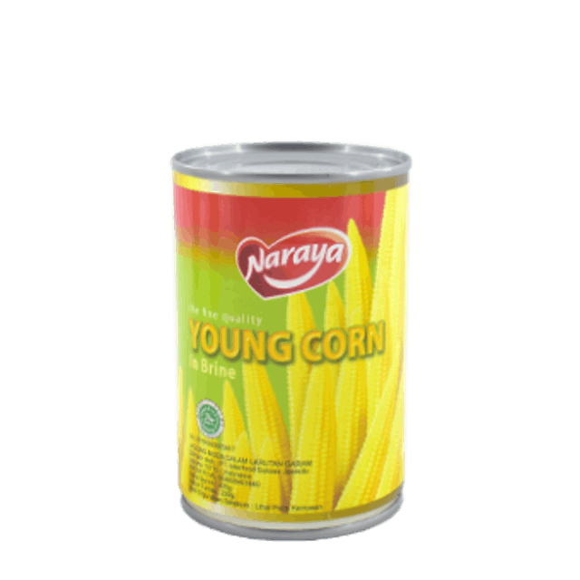 Interfood Naraya Canned Food Young Corn in Brine 1