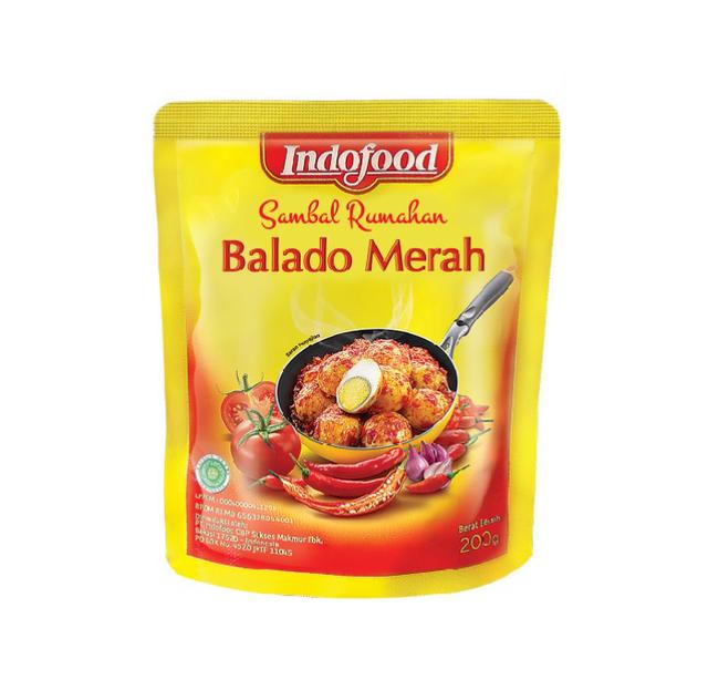Indofood Sambal Rumahan Balado Merah 1