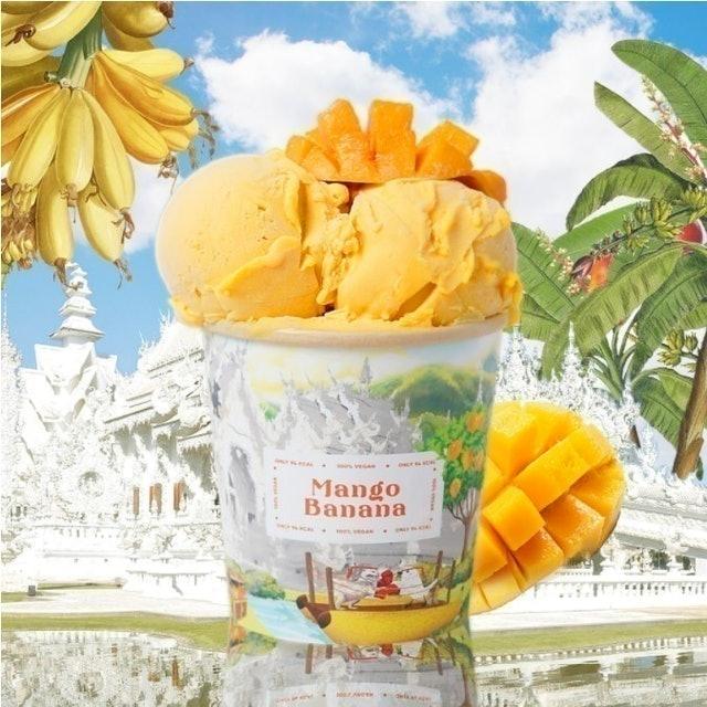 Luceria Gelato Mango Banana Vegan Gelato 1