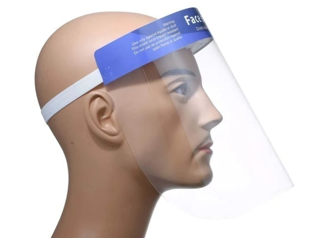 Face Shield Double Sided Transparent 1
