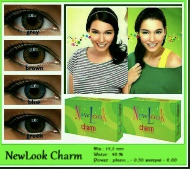 NewLook Charm 3 Tones Color Lens 1