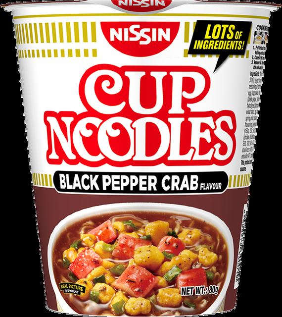 Nissin Nissin Cup Noodles Black Pepper Crab 1