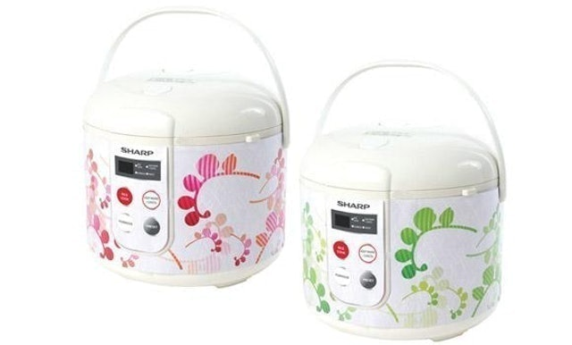 SHARP Touch Panel Rice Cooker 1