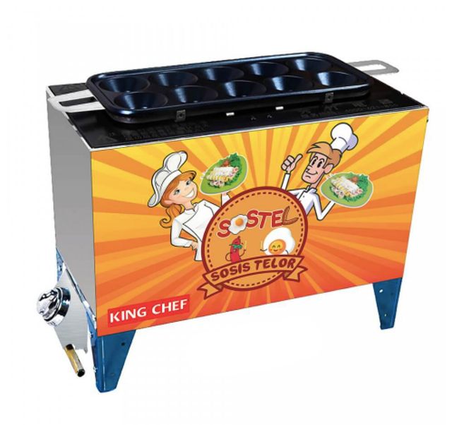 Sinar Himalaya King Chef Gas Egg Roll Machine 1