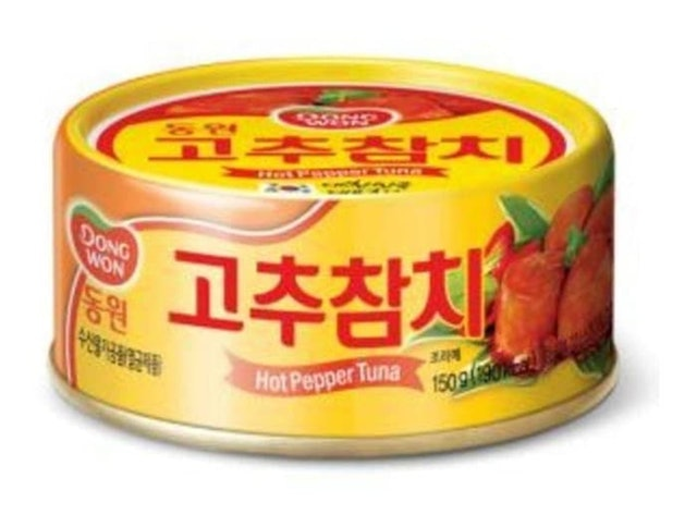 Dongwon Hot Pepper Tuna 1